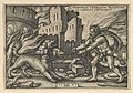 Hercules Capturing Cerberus from The Labors of Hercules MET DP841145.jpg