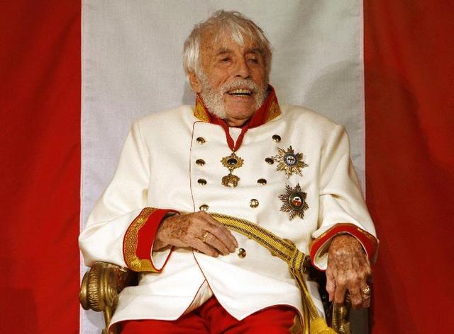 В роли Франца Йозефа I в 2008 году