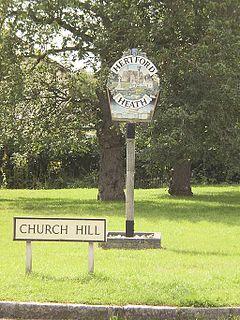 Hertford Heath human settlement in United Kingdom