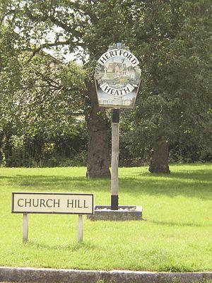 Hertford Heath - Hertford Heath village green