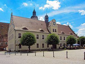 Herzberg (Elster) - Herzberg Town hall
