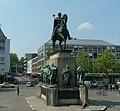 Heumarkt in Köln - Der Preußenkönig Friedrich Wilhelm lll. - panoramio.jpg