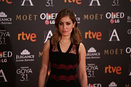 Hiba Abouk at Premios Goya 2017.jpg