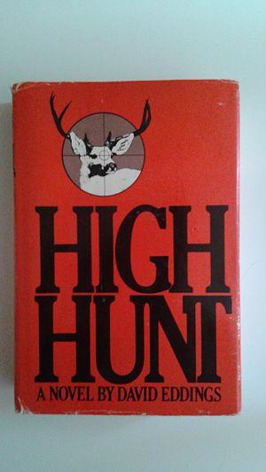 High Hunt - Hardback edition of High Hunt, 1973