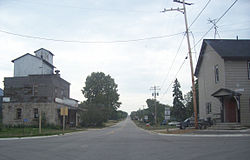 Looking south at Marytown, Wisconsin