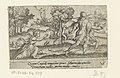 Hippomenes wint de hardloopwedstrijd tegen Atalanta Mythologische scènes (serietitel), RP-P-OB-54.627.jpg