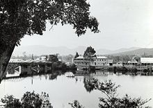 A view of Huonville,  c.1900-1949