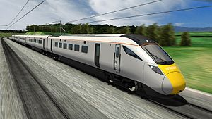 British Rail Class 801 - Artist's impression of a Hitachi Super Express train
