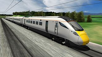 Intercity Express Programme - CGI impression of the train offered by Agility Trains (2009)