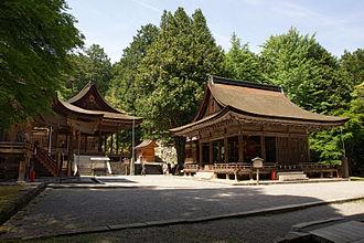 Hiyoshi Taisha - Higashi Hongū (East Hall of Worship)