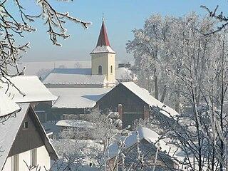 Hlubočec Municipality in Moravian-Silesian, Czech Republic