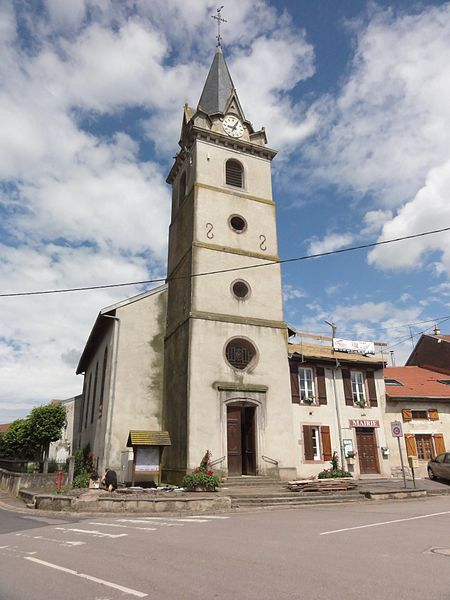 Hoéville (M-et-M) église