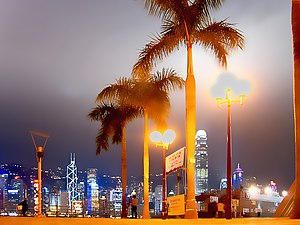 Hong Kong Island from Avenue of Stars Author: ...