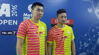 Chai Biao Badminton player