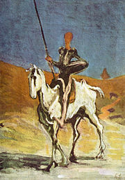 Don Quichotte, tableau d'Honoré Daumier.
