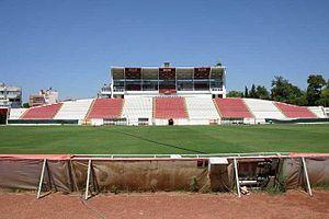 Antalya Atatürk Stadium - Image: Hoofdtribune