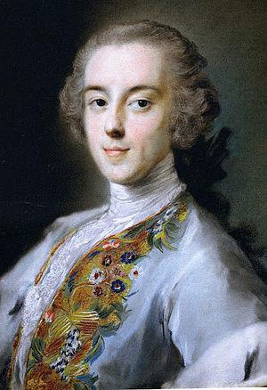 Horace Walpole - Walpole by Rosalba Carriera, circa 1741.
