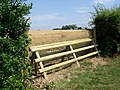 Horse jump near Scotland Farm - geograph.org.uk - 1377526.jpg