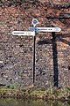 Horseley Fields Canal Junction Signpost - geograph.org.uk - 352517.jpg
