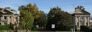Horton, Northamptonshire - Image: Horton House Gate Lodges