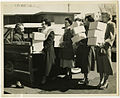 Hospital visiting committee sets out to bring Passover food packages, 1952 (4503120564).jpg