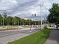 Hostivař, Švehlova, rekonstrukce TT, křižovatka s Práčskou.jpg