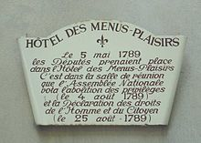 Hotel des Menus Plaisirs Sign.JPG