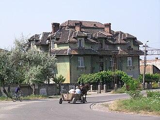 Teiuș - Image: House In Teius