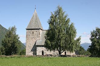 Vik - Stone church in Hove