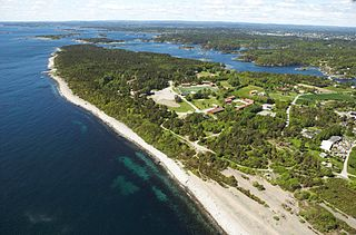 Hove, Norway area on Tromøy Island, Norway