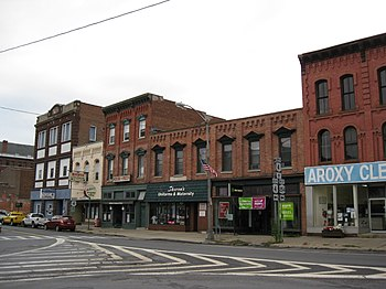 English: Hudson Falls Historic District, Hudso...