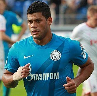 FC Zenit Saint Petersburg - Hulk.
