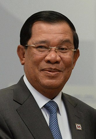 Prime Minister of Cambodia - Image: Hun Sen (2016) cropped