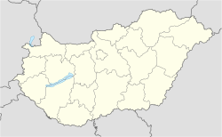 Rábasebes is located in Hungary