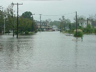 Hurricane Ophelia (2005) - Flooding in Davis, North Carolina