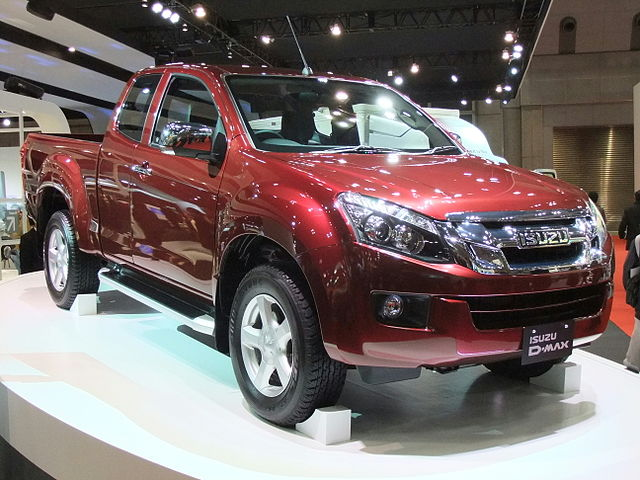 File Isuzu D Max 2nd Gen Front Perspective View Jpg