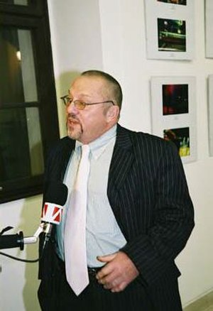 Ian Hancock - Hancock during a sponsored visit to the US Embassy in Bratislava, Slovakia, 10–14 January 2005.