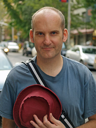 Ian MacKaye, American singer and record label owner