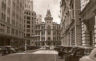 Jardine House - Second generation Jardine House in the 1930s.