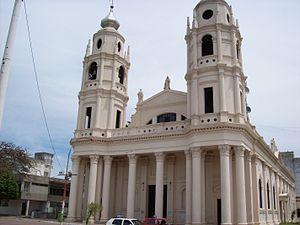 Goya, Argentina - Image: Iglesia Catedral Nuestra Señora del Rosario, Goya