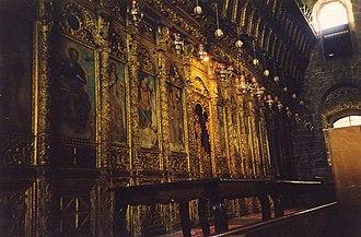Church of Saint Lazarus, Larnaca - Iconostasis of the Church of St. Lazarus