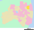Iitate in Fukushima Prefecture Ja.svg