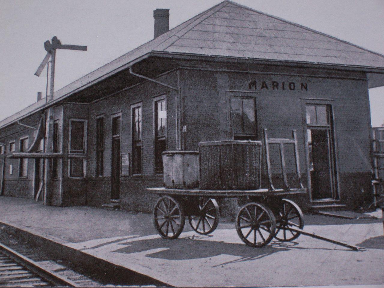 File Illinois Central Railroad Depot Marion Kentucky Jpg