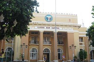 Ilocos Sur Province in Ilocos Region, Philippines
