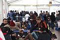 Immigranten - Flüchtlinge beim Grenzübergang Wegscheid (23127815231).jpg