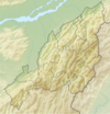 100px india nagaland relief map