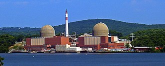 Fish screen - The Indian Point Energy Center in New York. Over a billion fish eggs and larvae are killed in its cooling system each year.