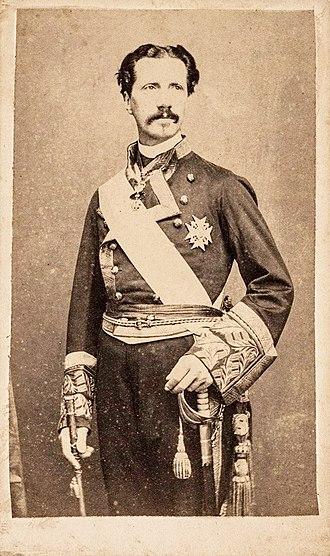 Infante Enrique, Duke of Seville - Image: Infante Enrique de Borbon, duque de Sevilla (1823 1870)