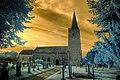 Infrared HDR All Saints church Earsham Norfolk (2926052369).jpg