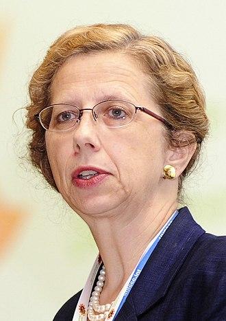 Inger Andersen (environmentalist) - Image: Inger Andersen (environmentalist, 2010, cropped)